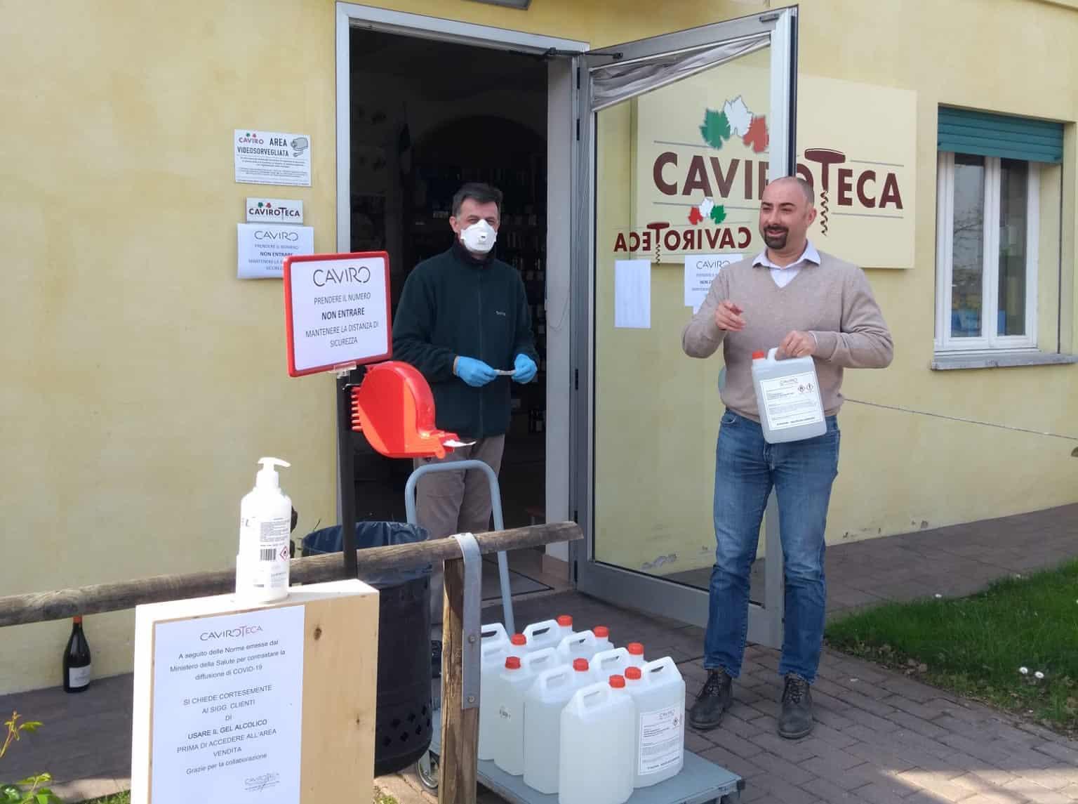 COVID-19: CAVIRO EXTRA È OPERATIVA